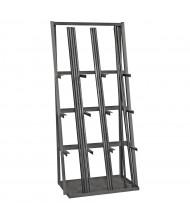 """Durham Steel 36"""" W x 24"""" D x 84"""" H 9-Level Vertical Bar Storage Rack"""