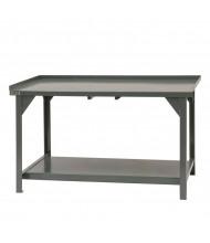 "Durham Steel 30"" D 4,000 lbs Capacity Workbench"