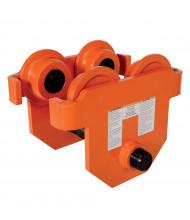 Vestil Push 1000 to 10000 lb Load Low Profile Eye Manual Trolley