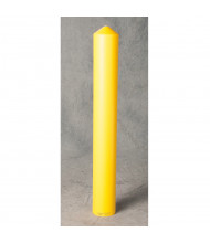 "Eagle 4"" Smooth Bollard Cover Post Protector Sleeve (Shown in Yellow)"