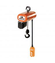 Vestil 10 ft. Electric Chain Hoist 600 lb Load