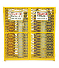 Durham Steel 18 Gas Cylinder Storage Cabinet, Vertical