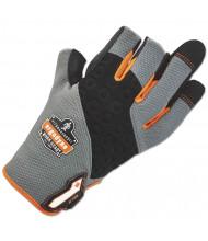 ergodyne ProFlex 720 Heavy-Duty Framing Glove, Gray, Medium