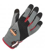 ergodyne ProFlex 710CR Heavy-Duty + Cut Resistance Glove, Gray, Large