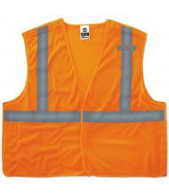 ergodyne GloWear 8215BA Type R Class 2 Econo Breakaway Mesh Vest, Orange, L/XL