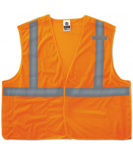 ergodyne GloWear 8215BA Type R Class 2 Econo Breakaway Mesh Vest, Orange, 4XL/5XL