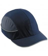 ergodyne Skullerz 8950 Bump Cap, Short Brim, Navy