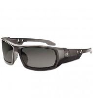 Ergodyne Skullerz Odin Safety Glasses, Matte Black Frame/Smoke Lens, Nylon/Polycarb