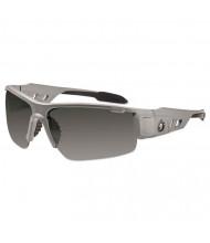 Ergodyne Skullerz Dagr Safety Glasses, Matte Gray Frame/Smoke Lens, Nylon/Polycarb