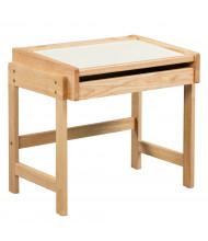 "ECR4Kids 25"" W x 18"" D Doodle Preschool Dry-Erase Schoolhouse Desk"