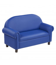 ECR4Kids SoftZone Little Lux Pre-School Sofa, Blue
