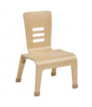 """ECR4Kids 12"""" H Bentwood Teacher Classroom Chair, 2-Pack"""