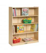 "ECR4Kids 48"" H Birch Classroom Bookcase"