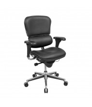 Eurotech ErgoHuman LE10ERGLO Deluxe Multifunction Leather Mid-Back Executive Office Chair