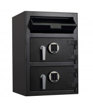 """Protex FDD-3020 II 3.6 cu. ft. """"B"""" Rated Dual-Door Front Loading Depository Safe"""
