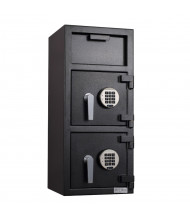 """Protex FDD-3214 1.75 cu. ft. """"B"""" Rated Dual-Door Depository Safe"""