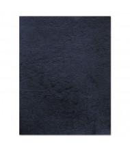 "Fellowes 7.5 Mil 8.5"" x 11"" Square Corner Navy Binding Cover, 50/Pack"