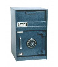 Gardall FL1218C 0.7 cu. ft. Single Door Front Loading Combination Depository Safe