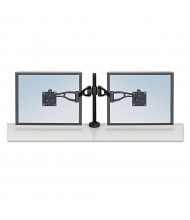Fellowes Professional Series Depth Adjustable Dual Monitor Arm for Monitors Up to 24 lbs.