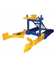 Vestil FPDL-8-L 800 lb Load 55-Gallon Plastic Drum Handler Forklift Attachment