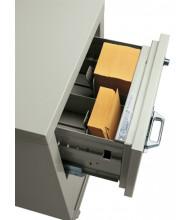 "FireKing 5"" H x 9"" W Full Depth Card Tray for Card/Check Files"