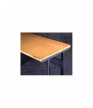 Tennsco Compressed Wood Workbench Tops with Stringer (Shown Mounted)