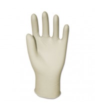 GEN Latex General-Purpose Gloves, Powder-Free, Natural, Medium, 4.4 mil, 1,000/Pack