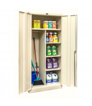 """Hallowell 800 Series 78"""" H Combination Storage Cabinets (Shown in Tan)"""