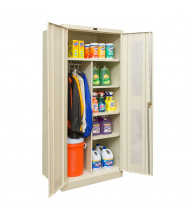 """Hallowell 800 Series 78"""" H Ventilated Combination Storage Cabinets (Shown in Tan)"""