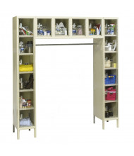Hallowell 16-Person Safety-View Plus Box Lockers, Tan