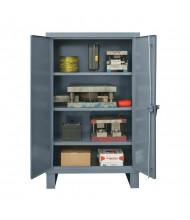 Durham Steel Adjustable Shelf 12 Gauge Storage Cabinets (3-shelf models)