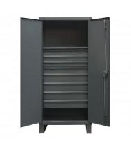 Durham Steel 12 Gauge Cabinets with Drawers (1 Shelf & 8 Drawer Model)
