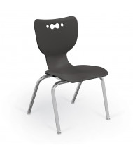 """Balt Hierarchy 16"""" H Stacking Classroom Chair, 5-Pack (Shown in Black)"""