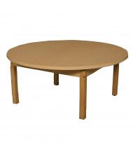 "Wood Designs 42"" D Round High Pressure Laminate Elementary School Tables"