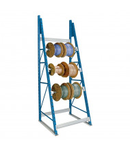 Hallowell Single-Sided Cable Reel Racks 6000 lb Load (Shown with 3 Axles)