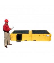 Vestil 535-Gallon Capacity Intermediate Bulk Crate Spill Containment Pallet