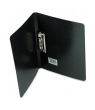 """Acco 5/8"""" Capacity 8-1/2"""" x 11"""" Presstex Grip Punchless Spring-Action Clamp Binder, Black"""