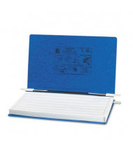 """Acco 14-7/8"""" x 8-1/2"""" Unburst Sheet Pressboard Hanging Data Binder, Dark Blue"""