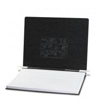 "Acco 14-7/8"" x 11"" Unburst Sheet Pressboard Hanging Data Binder, Black"