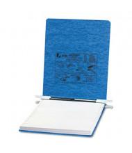 "Acco 9-1/2"" x 11"" Unburst Sheet Pressboard Hanging Data Binder, Light Blue"