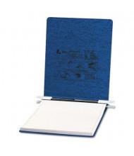 """Acco 9-1/2"""" x 11"""" Unburst Sheet Pressboard Hanging Data Binder, Dark Blue"""