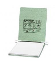 "Acco 9-1/2"" x 11"" Unburst Sheet Pressboard Hanging Data Binder, Light Green"