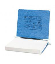 "Acco 11"" x 8-1/2"" Unburst Sheet Pressboard Hanging Data Binder, Light Blue"