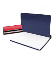 """Acco 8-1/2"""" x 11"""" 3-Hole Pressboard Hanging Expandable Binder, Blue"""