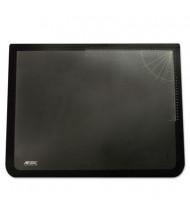 "Artistic 20"" 31"" Logo Pad Desktop Organizer with Clear Overlay, Black"