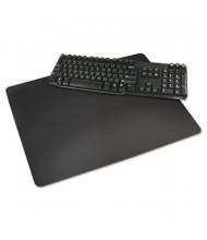 "Artistic 12"" x 17"" Rhinolin II Desk Pad with Microban, Black"