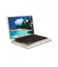 "Allsop 13"" x 9"" Travel Notebook Nonskid Optical Mouse Pad, Black"