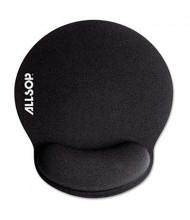 "Allsop MousePad Pro 7-1/4"" x 8-1/4"" Memory Foam Mouse Pad with Wrist Rest, Black"