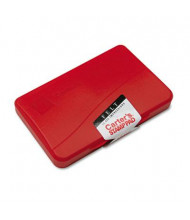 "Carter's Felt Stamp Pad, 4-1/4"" x 2-3/4"", Red Ink"