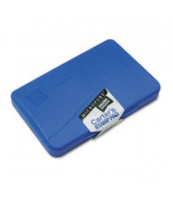 "Carter's Micropore Stamp Pad, 4-1/4"" x 2-3/4"", Blue Ink"